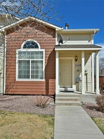 2609 Mesa Springs View, Colorado Springs, CO 80907 - MLS#: 6683522