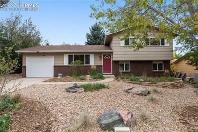 3480 W Montebello Drive, Colorado Springs, CO 80918 - MLS#: 6779640
