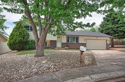 3425 Valejo Court, Colorado Springs, CO 80918 - MLS#: 6875606