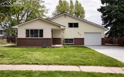 4231 N Chestnut Street, Colorado Springs, CO 80907 - MLS#: 7024753