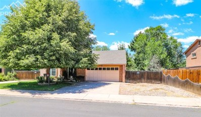 2826 Dawn Drive, Colorado Springs, CO 80918 - MLS#: 7116333