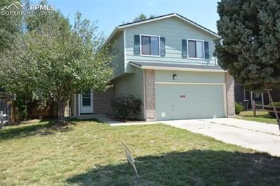 4585 Cassidy Street, Colorado Springs, CO 80911 - MLS#: 7161815