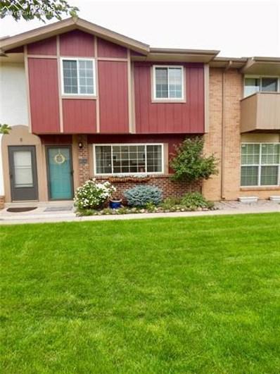 1219 Willow Bend Circle UNIT B, Colorado Springs, CO 80918 - MLS#: 7181756