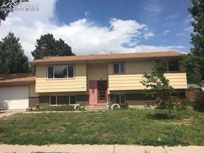 4923 Galena Drive, Colorado Springs, CO 80918 - MLS#: 7202314