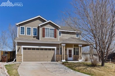 4331 Bronco Gulch Court, Colorado Springs, CO 80925 - MLS#: 7229836
