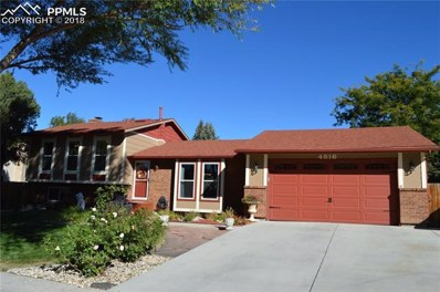 4816 Iron Horse Trail, Colorado Springs, CO 80917 - MLS#: 7297881