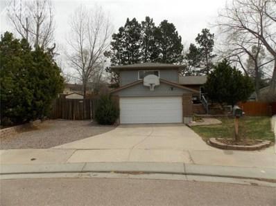 4679 Ranch Drive, Colorado Springs, CO 80918 - MLS#: 7336187