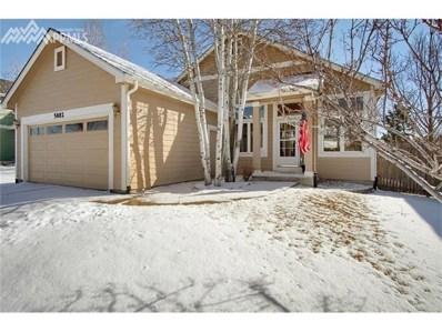 5882 Instone Circle, Colorado Springs, CO 80922 - MLS#: 7358904