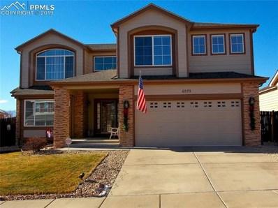 4573 Desert Varnish Drive, Colorado Springs, CO 80922 - MLS#: 7631829