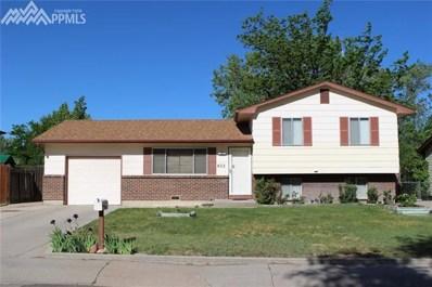822 Cardinal Street, Colorado Springs, CO 80911 - MLS#: 7691196
