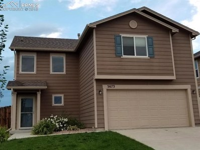 3673 Winter Sun Drive, Colorado Springs, CO 80925 - MLS#: 7771759