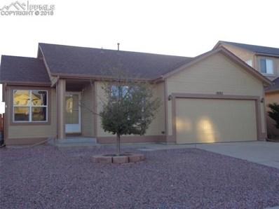 1882 Sage Grouse Lane, Colorado Springs, CO 80951 - MLS#: 7809967