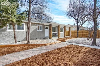 1306 E Uintah Street, Colorado Springs, CO 80909 - MLS#: 7847299