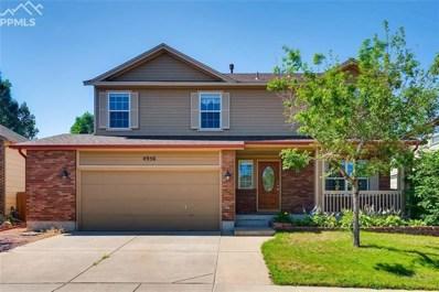 4956 Butterfield Drive, Colorado Springs, CO 80923 - MLS#: 7873659