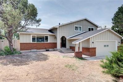 5385 Galena Drive, Colorado Springs, CO 80918 - MLS#: 7885524