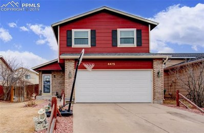 4475 Witches Hollow Lane, Colorado Springs, CO 80911 - MLS#: 7891787