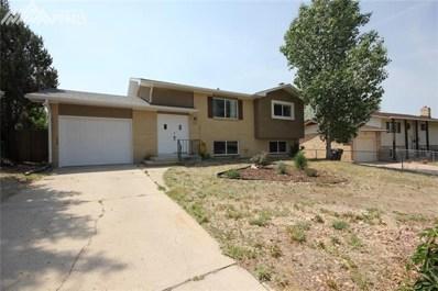 617 Rowe Lane, Colorado Springs, CO 80911 - MLS#: 8043664