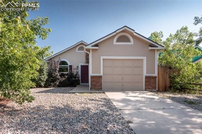 4750 Spacewalk Way, Colorado Springs, CO 80916 - MLS#: 8048016