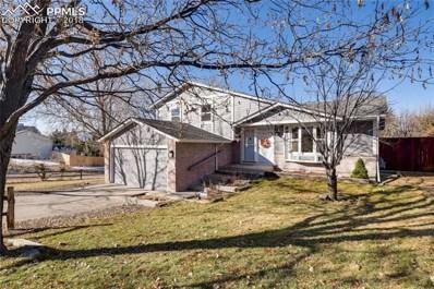 4910 Wood Brook Court, Colorado Springs, CO 80917 - MLS#: 8169846