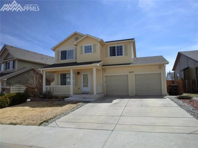 7419 Bentwater Drive, Fountain, CO 80817 - MLS#: 8174571