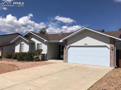 1160 Marsh Hawk Drive, Colorado Springs, CO 80911 - MLS#: 8186756
