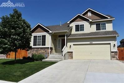 4545 Horse Tooth Drive, Colorado Springs, CO 80911 - MLS#: 8297716