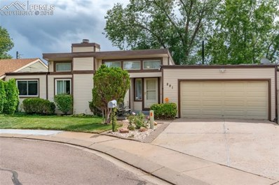 881 San Antonio Place, Colorado Springs, CO 80906 - MLS#: 8297793