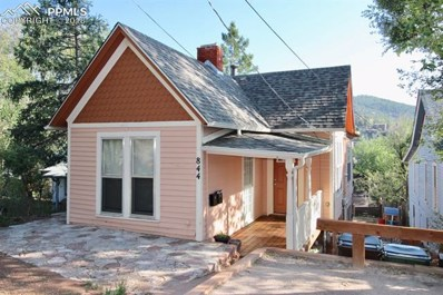 844 Prospect Place, Manitou Springs, CO 80829 - MLS#: 8311344