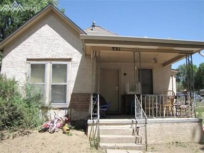 531 S El Paso Street, Colorado Springs, CO 80903 - MLS#: 8376970