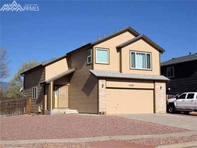 4390 Witches Hollow Lane, Colorado Springs, CO 80911 - MLS#: 8386517