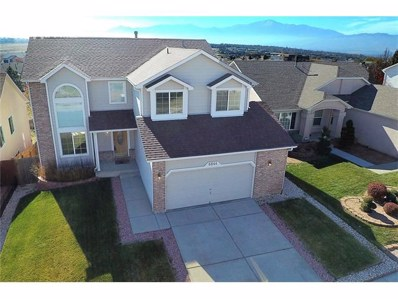 6844 Becknell Drive, Colorado Springs, CO 80923 - MLS#: 8432785