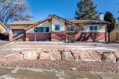 829 Panorama Drive, Colorado Springs, CO 80904 - MLS#: 8490521