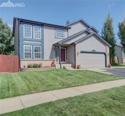 6165 Wheatgrass Drive, Colorado Springs, CO 80923 - MLS#: 8494730