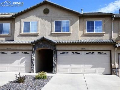 1026 Cheyenne Villas Point, Colorado Springs, CO 80906 - MLS#: 8509133