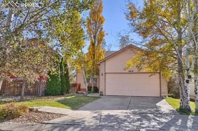 6810 Bear Tooth Drive, Colorado Springs, CO 80923 - MLS#: 8521146