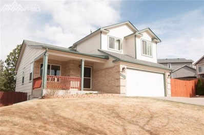 3495 Cowhand Drive, Colorado Springs, CO 80922 - MLS#: 8530153
