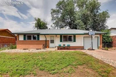 2525 Ivanhoe Drive, Colorado Springs, CO 80911 - MLS#: 8618532