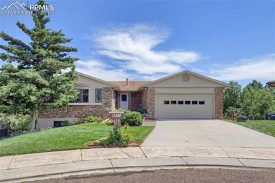 4821 Garden Place, Colorado Springs, CO 80918 - MLS#: 8751822