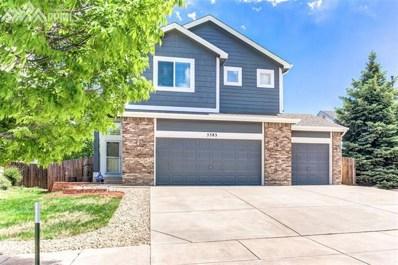 5383 Gentle Wind Road, Colorado Springs, CO 80922 - MLS#: 8841713