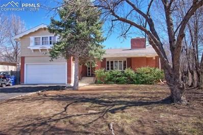 521 East Hills Road, Colorado Springs, CO 80909 - MLS#: 8869130