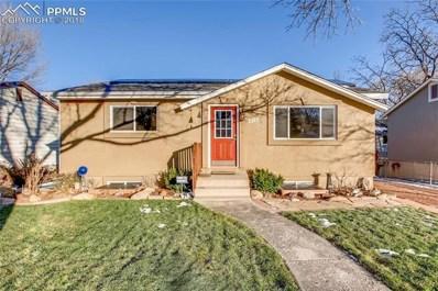 2313 N 7th Street, Colorado Springs, CO 80907 - MLS#: 8905998