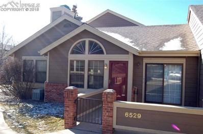 6529 Foxdale Circle, Colorado Springs, CO 80919 - MLS#: 8930319