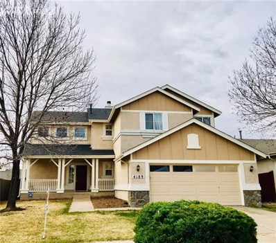 4189 Vernal Circle, Colorado Springs, CO 80916 - MLS#: 8931326