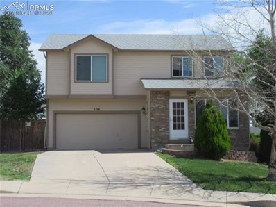 536 Autumn Place, Fountain, CO 80817 - MLS#: 8984816