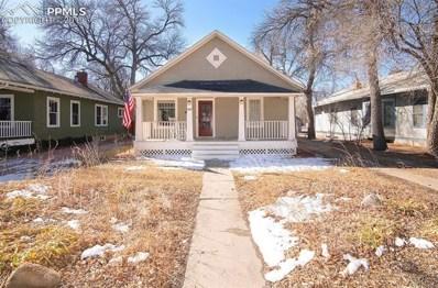 1025 E Boulder Street, Colorado Springs, CO 80903 - MLS#: 8987787