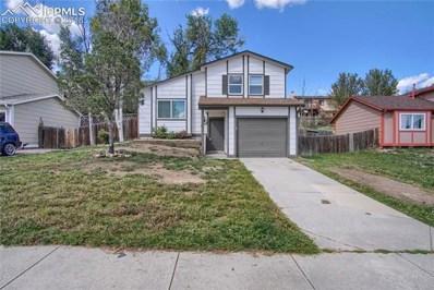 5560 Montgomery Terrace, Colorado Springs, CO 80917 - MLS#: 9086521