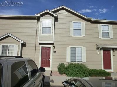 423 Ellers Grove, Colorado Springs, CO 80916 - MLS#: 9119732