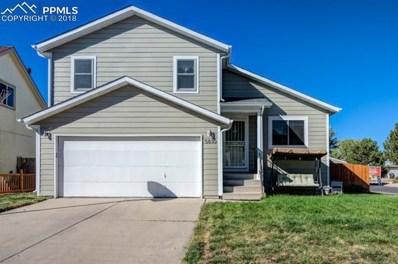 5830 Dutchess Drive, Colorado Springs, CO 80923 - MLS#: 9304059