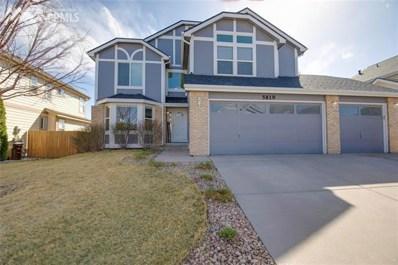 5819 Instone Circle, Colorado Springs, CO 80922 - MLS#: 9422300