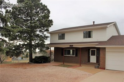 4919 Rocking R Drive, Colorado Springs, CO 80915 - MLS#: 9474003